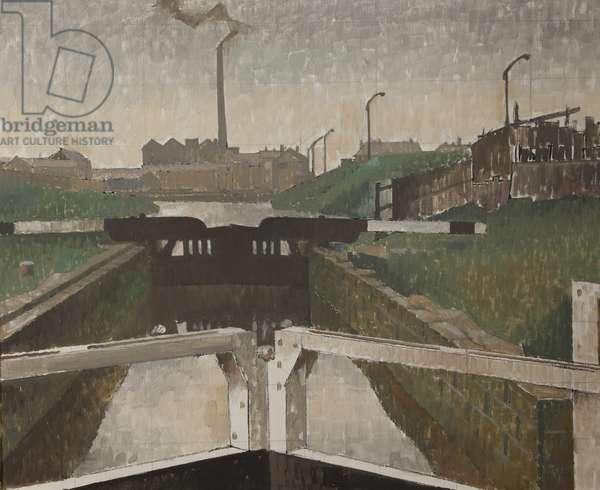 Blackburn Bottom Lock (oil on canvas)