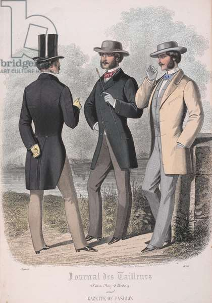 Three men wearing jackets.