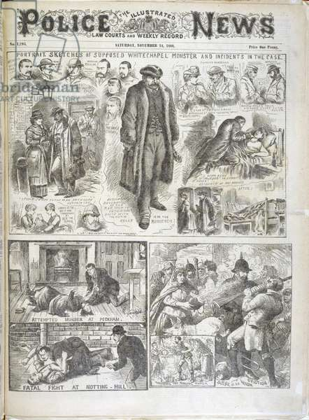 The Whitechapel monster.