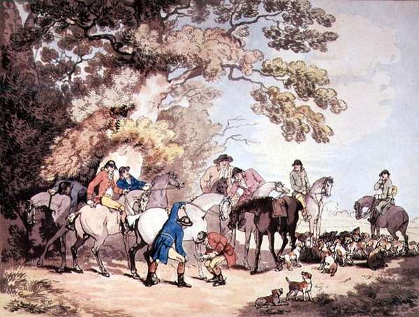Going out in the Morning, 1787