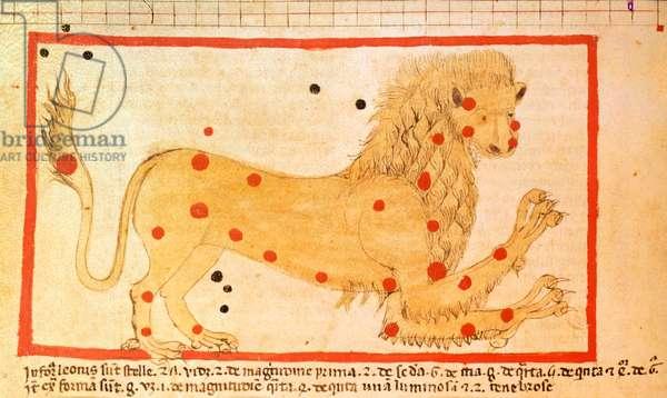 Add 23770 13v The Constellation of Leo, c.1500 (manuscript)