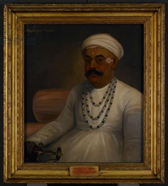 Mahadji Scindia, 1792 (oil on canvas)