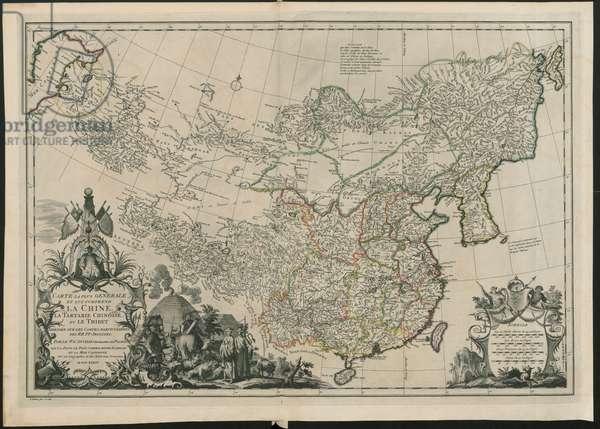 Map of China,