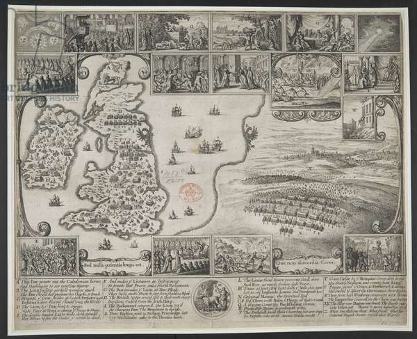 Map of Great Britian.