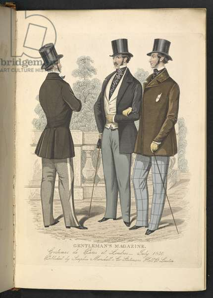 Costumes de Paris et Londres. July 1850. Plate 20.The Gentleman's Magazine of Fashion, Fancy Costumes, and the Regimentals of the Army.London, England : 1828
