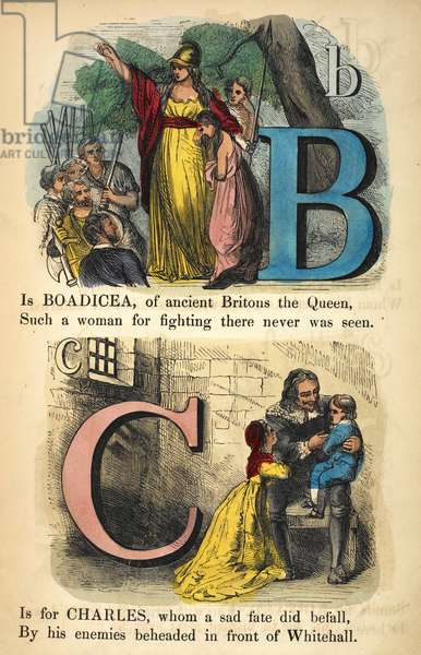 B is for Boadicea. C is for Charles I.