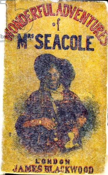 """Portrait of Mary Jane Seacole (1805 - 14 May 1881), née Grant. A Jamaican-born woman of Scottish and Creole descent who set up a 'British Hotel' behind the lines during the Crimean War, which she described as """"a mess-table and comfortable quarters for sick and convalescent officers,"""" and provided succour for wounded servicemen on the battlefield. She was posthumously awarded the Jamaican Order of Merit in 1991. In 2004 she was voted the greatest black Briton."""