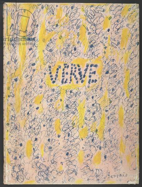 Verve, Couleur de Bonnard, 1947 (colour litho)