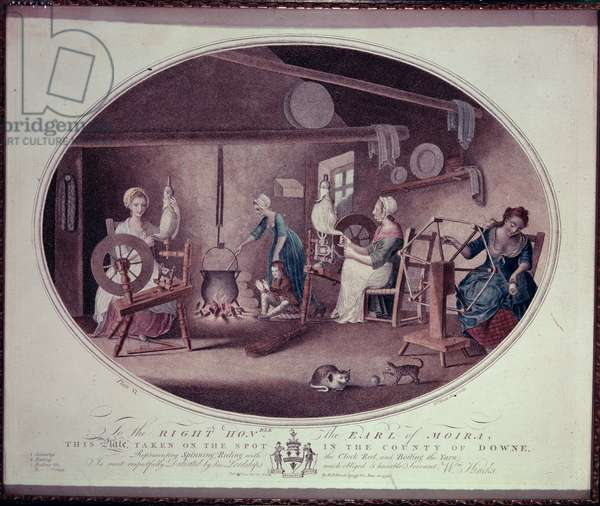 Cottage Industry, 1791 (engraving)