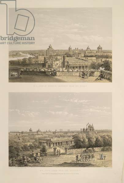Lucknow- No.5. The view of position captured from the rebels. 6. View taken from the residency
