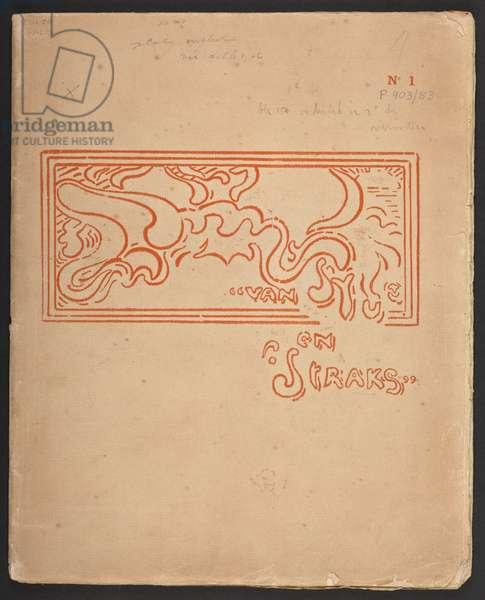 Title page of 'Van Nu en Straks', by H Van der Velde, published 1893-94 & 1896-1901 (print)
