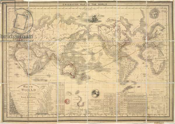 Emigration Map of the World