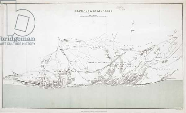 A map of Hastings & Saint Leonards