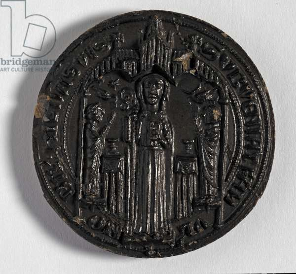 Abbey Seal showing Abbess Hild