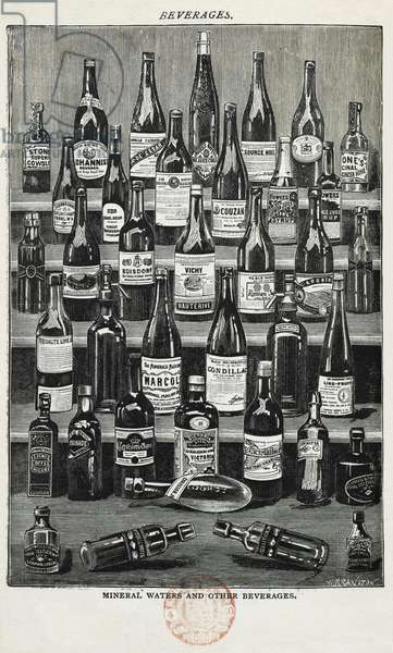 Beverages, assorted wines and spirits