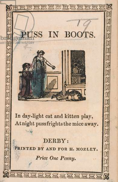 Front cover of the story, Puss In Boots.