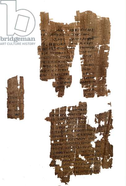 Papyrus, The New Gospel Fragments, 100-150 AD