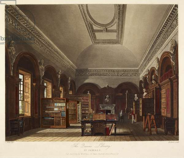 The Queen's library. St. James's Palace.