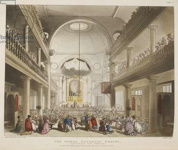 The Roman Catholic Chapel, (Lincolns Inn Fields)