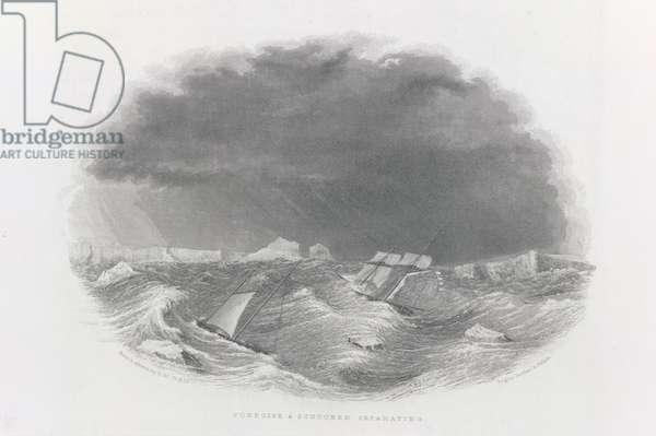Porpoise and Schooner separating