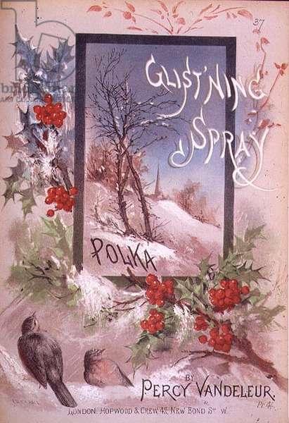 """Glistning Spray"", Polka by Percy Vandeleur"