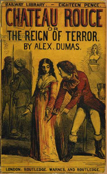 Illustrated cover showing two characters from the novel.