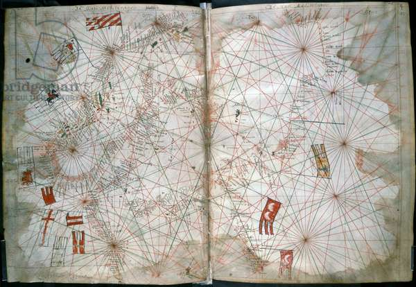 Chart of the Mediterranean