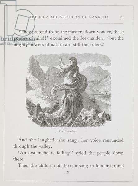 The ice-maiden.