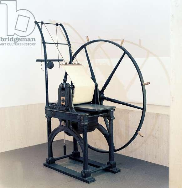 Penny Black stamp press