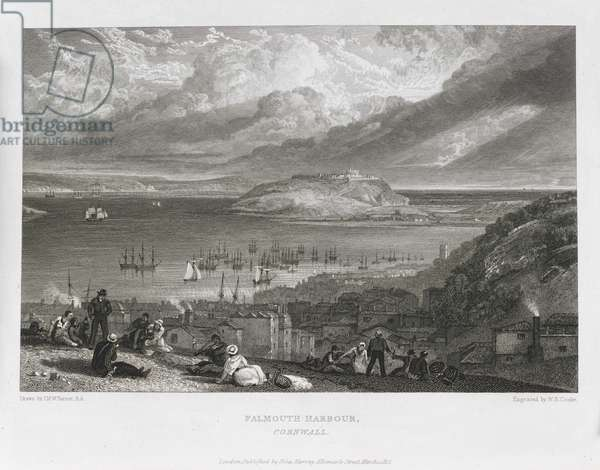 Falmouth Harbour, Cornwall.