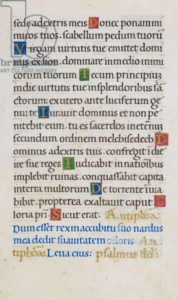 Text page; Psalm 109