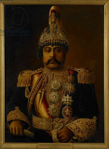 Maharaja Juddha Shamsher Jang Bahadur Rana, Prime Minister and Supreme Commander-in-Chief of Nepal (?-1952, ruled 1932-45)