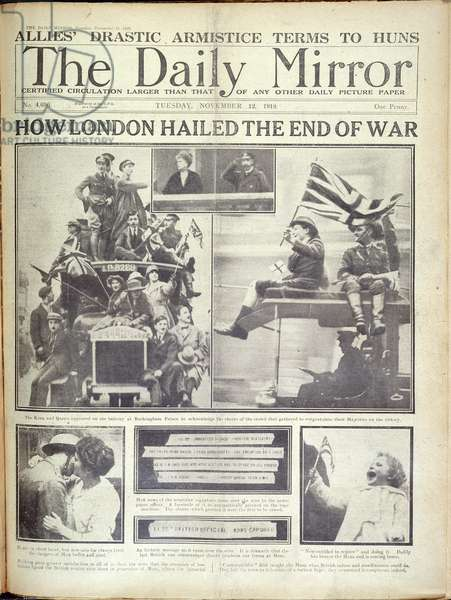 End of the First World War