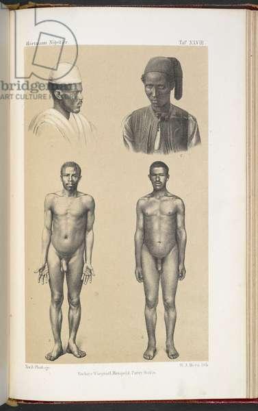 Two Somalian and two Swahili men