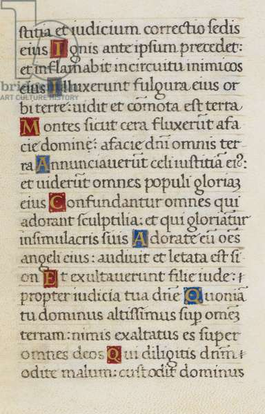 Text page; Psalm 96
