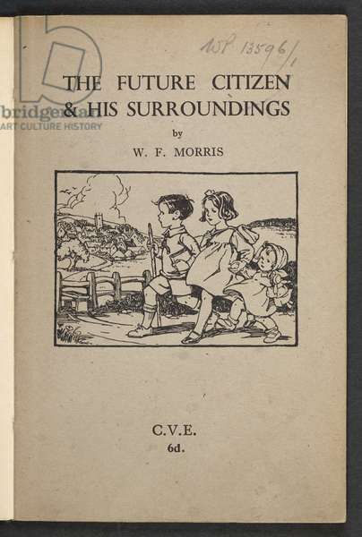 Front cover of The Future Citizen & his Surroundings, 1946 (litho)