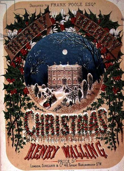 """""""Merry Merry Christmas"""", written and composed by Henry Walling"""