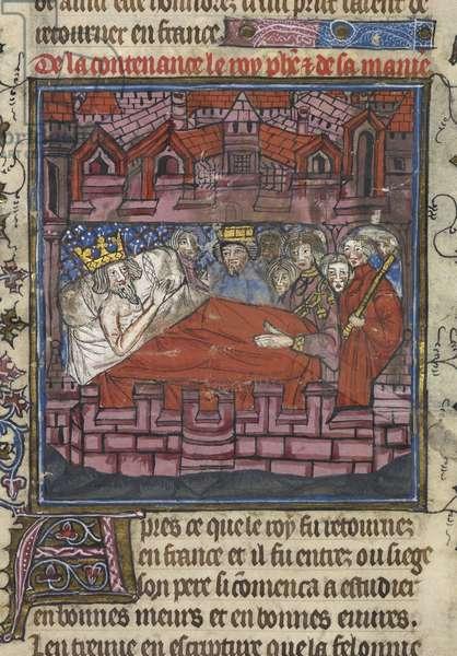 King Louis IX's Last Instructions to his eldest Son