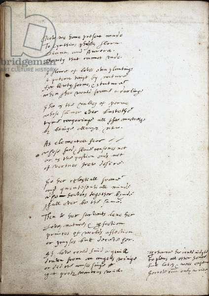 Poem of Sir Walter Raleigh