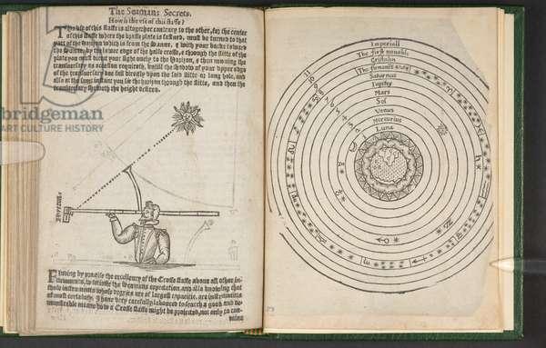 Chart from 'The Seaman's Secrets' by John Davis, 1626 (print)
