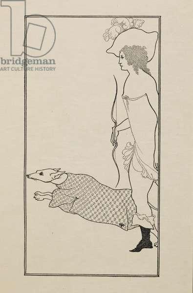 Atalanta, from a Book of Fifty Drawings, 1897 (drawing)