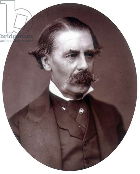 Sir Henry Thompson, 1st Baronet,  FRCS, (litho)