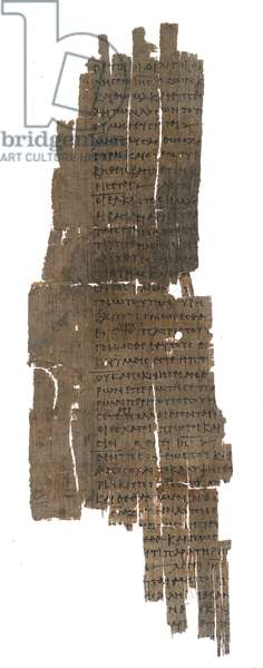 Papyrus 1531, Sayings of Jesus, from the Gospel of Thomas