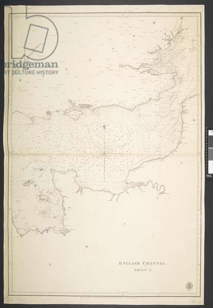 English Channel, Sheet I, 1824 (litho)