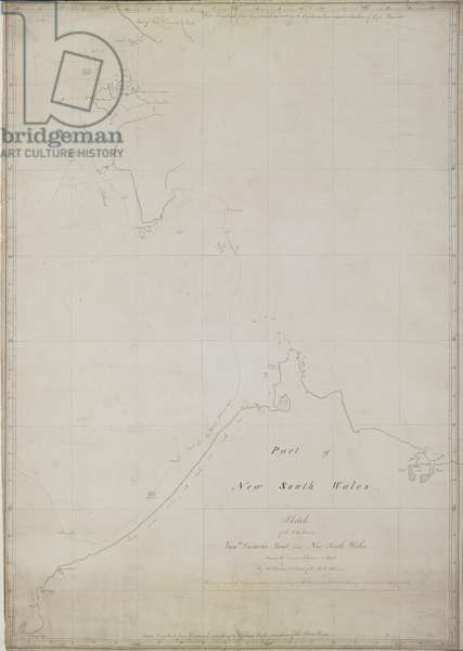 The parts between New South Wales and Van Diemen's Land, seen in the