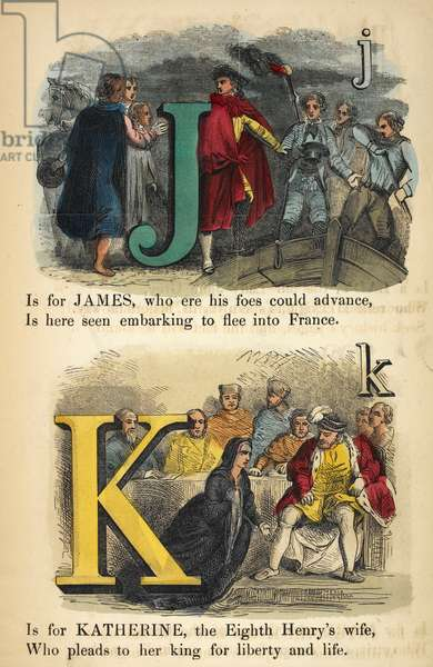 J is James. K is for Katherine.