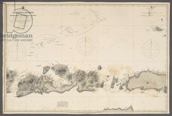 Eastern Archipelago, Lombok to Flores, including Paternoster and Postillon Islands; from … Batavian Government surveys. [Admiralty Chart], London, 1892 (engraving)