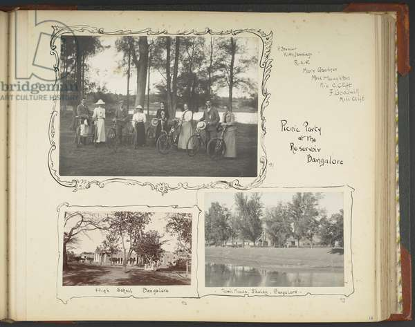 Wesleyan missionaries with bicycles - British Library, album of Revd Robert Ellis photo 304 (91)