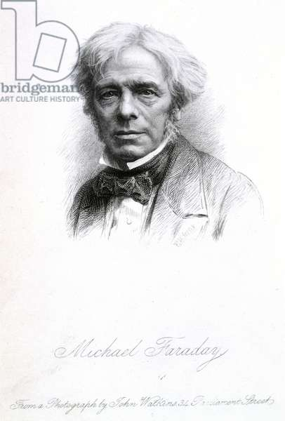 Michael Faraday (1791-1867). English chemist and physicist. Portrait.