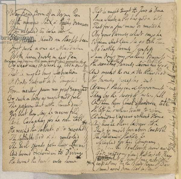 Poem of William Blake